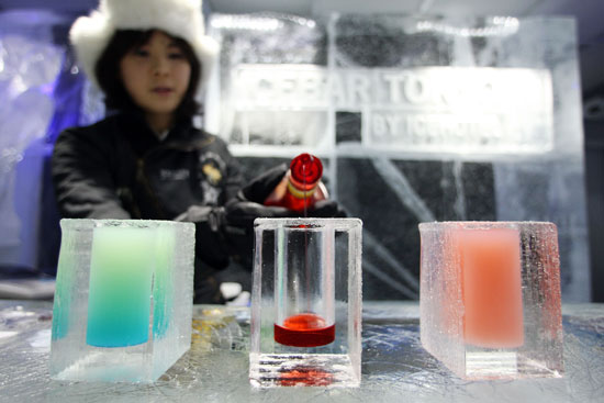 Oh Snap! Tokyo Bar Redefines the Ice-Cold Drink