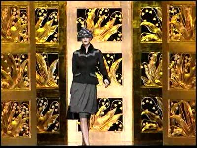 Paris Fashion Week: Christian Dior Fall 2009 Video