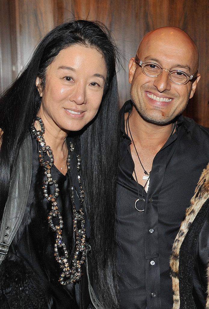 Vera Wang and Angel Sanchez