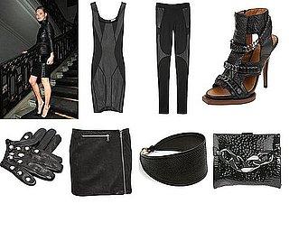 Shopping: Sleek Leather Looks