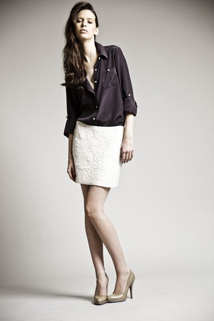 With Sharp Cut-Outs and Gentle Draping, Lia Kes Hits Her Stride for Spring 2010