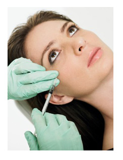 Injecting blood to make your face look younger