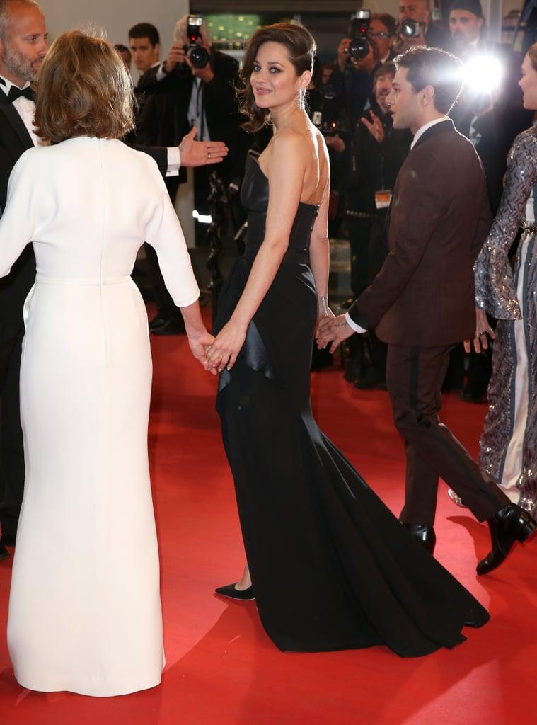 Marion Cotillard Stared Down the Camera in Dior