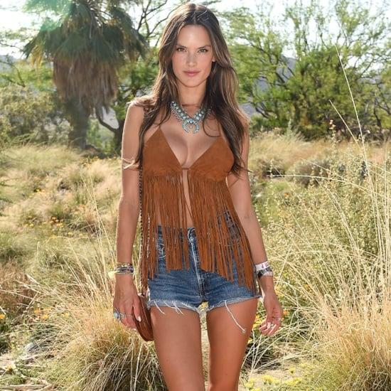 Alessandra Ambrosio's Fashion at Coachella