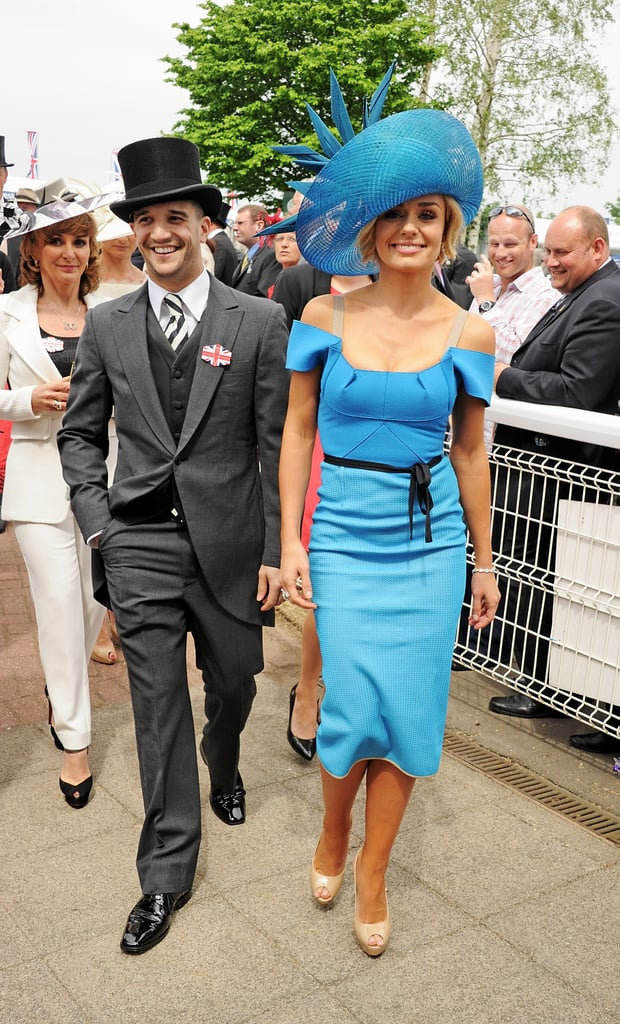 Singer Katherine Jenkins and her Dancing With the Stars partner Mark Ballas were dressed to the nines.