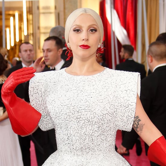 Lady Gaga's Dress at the Oscars 2015