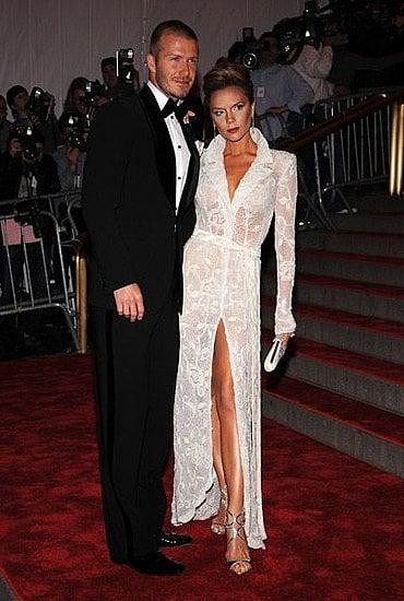 The Met's Costume Institute Gala: David & Victoria Beckham