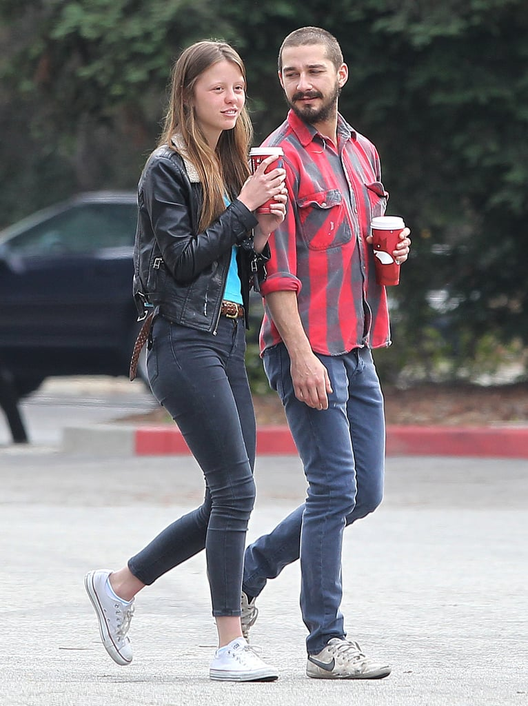 Shia Labeouf With Girlfriend Mia Goth | Pictures ...