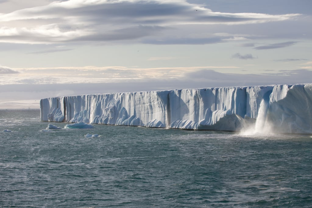 The Arctic is located at the northernmost part of the Earth. During the warmest month of July, the temperature hovers around a balmy 50 degrees. Photo courtesy of Warner Home Entertainment