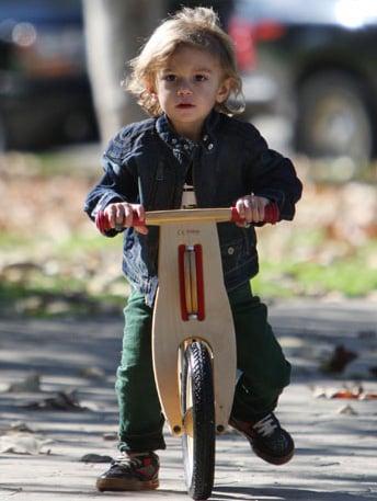 Roll Like Kingston with the Skuut Walking Bike