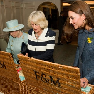 Kate Middleton With the Queen and Camilla Video