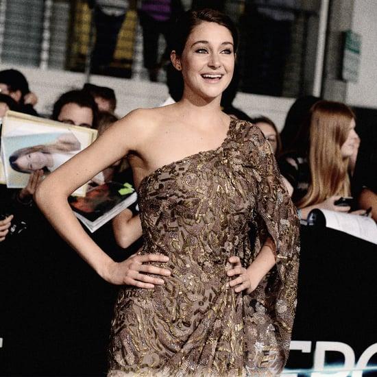 Shailene Woodley in an Elie Saab Gown at Divergent Premiere