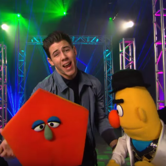 Nick Jonas Sesame Street Music Video About Shapes