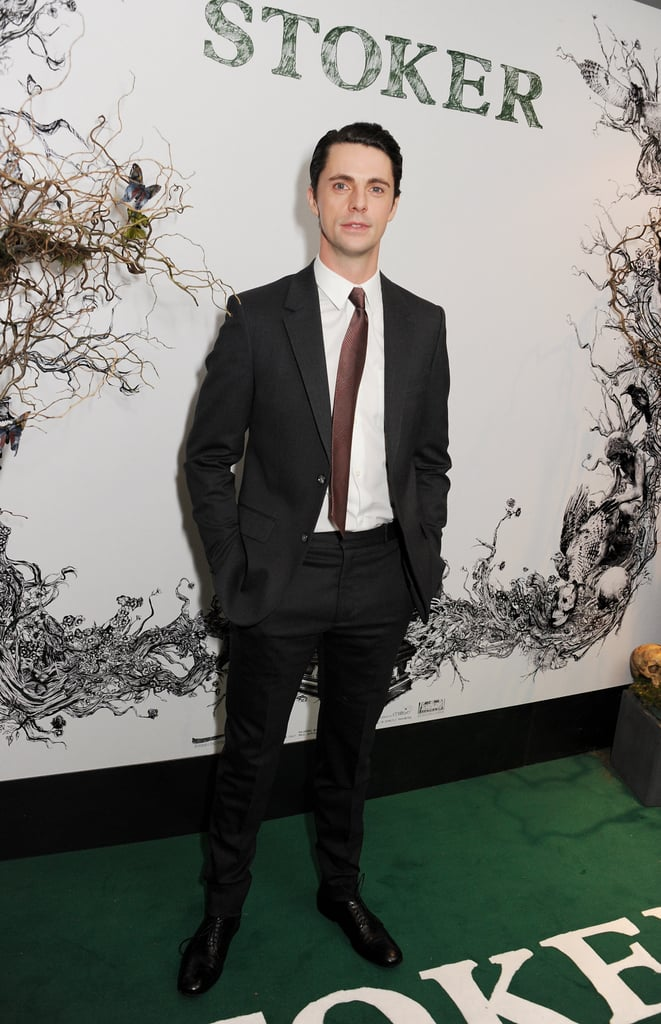 Matthew Goode attended a special screening of Stoker.