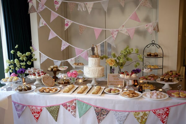 On Dessert Table Banners