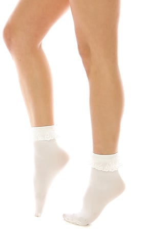 *Intimates Boutique The Prissy Lace Ruffle Socks