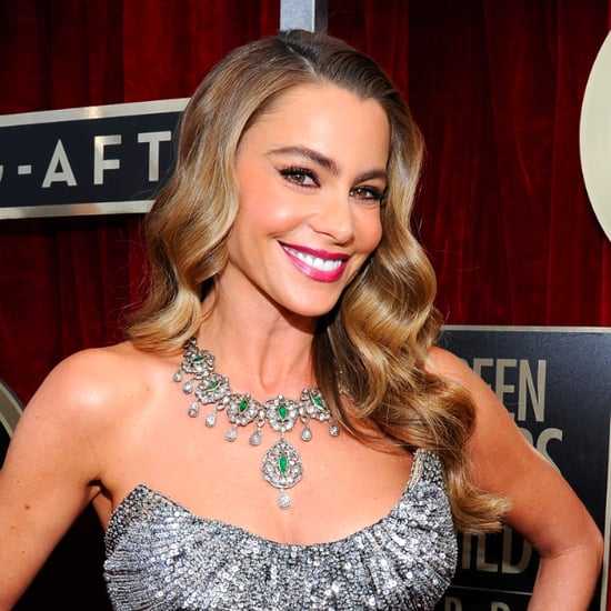 Sofia Vergara's Hair and Makeup at SAG Awards 2014