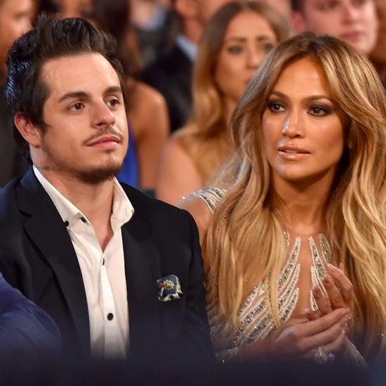 Jennifer Lopez and Casper Smart 2015 Billboard Music Awards