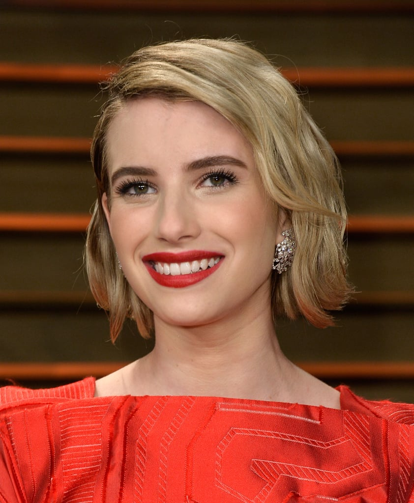Emma Roberts at Vanity Fair Party