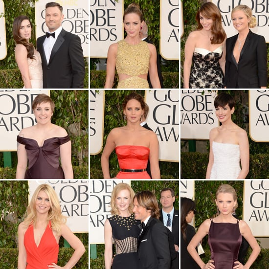 See All the Celebrities on the Golden Globes Red Carpet!