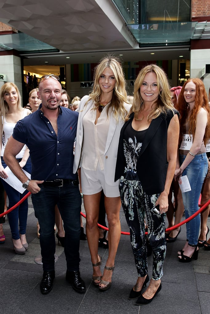 Alex Perry, Jennifer Hawkins and Charlotte Dawson continued the search for Australia's Next Top Model at the show's Sydney auditions at Pitt Street Mall on Jan. 19.
