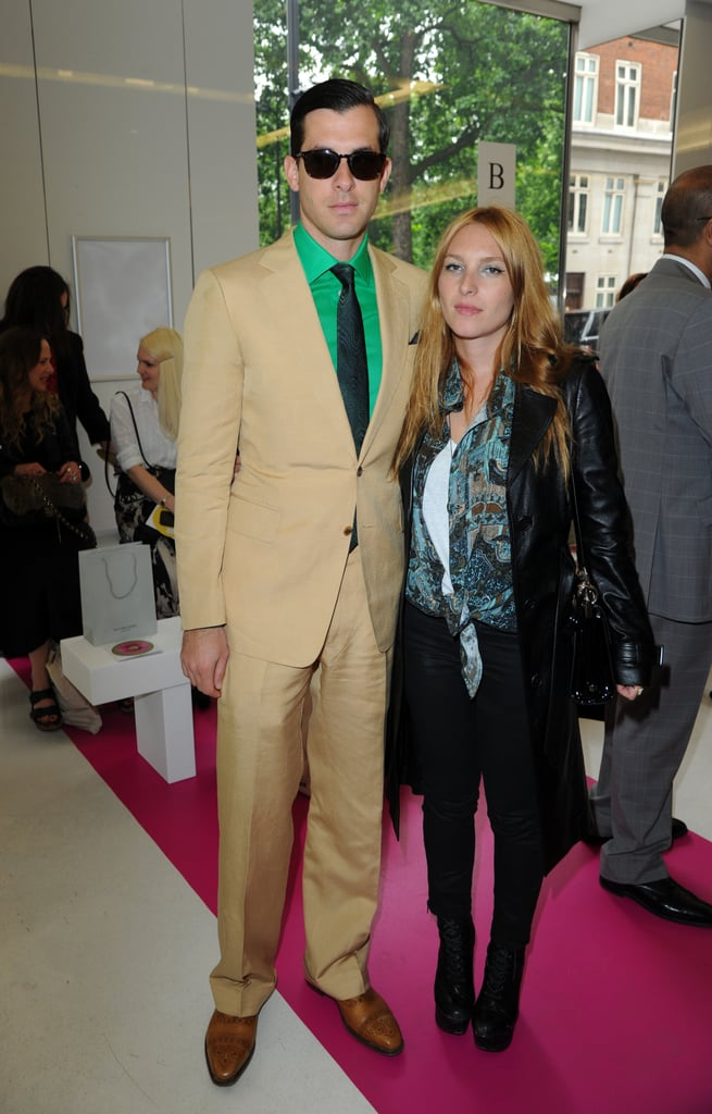 Mark Ronson and Joséphine de la Baume