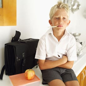 Is Your Tot Too Sick For School?