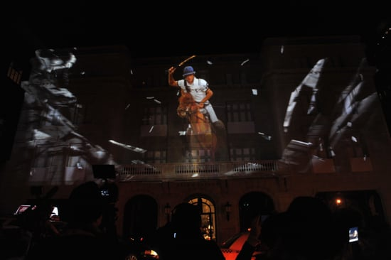 Ralph Lauren Shuts Down Blocks in London and New York for 4-D Light Show Spectacle