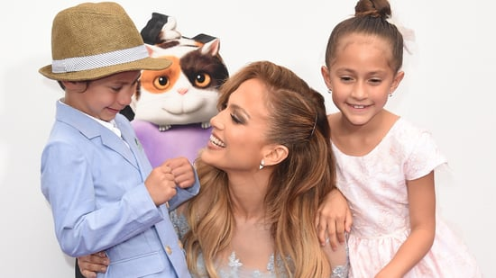 Jennifer Lopez and Casper Smart Hit the Beach in the Hamptons With Her 8-Year-Old Twins