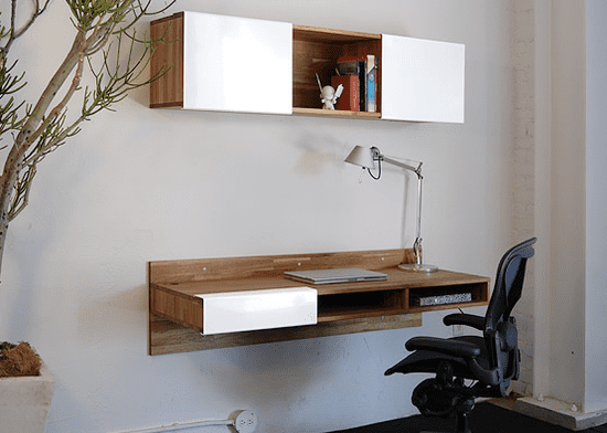 Crave Worthy: MASH Studios LAX Wall-Mounted Desk