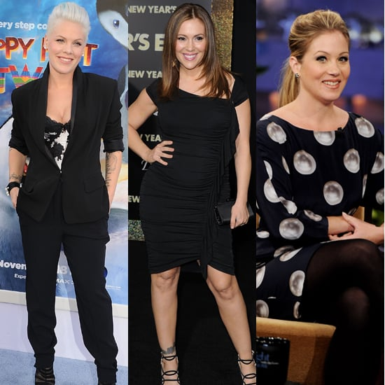 Celebrity Mom Discusses Postpartum Baby Weight