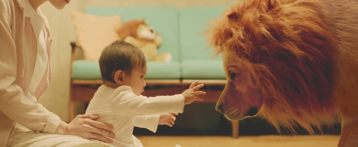 This Sweet Amazon Ad Shows a Baby Falling in Love With Her Dog