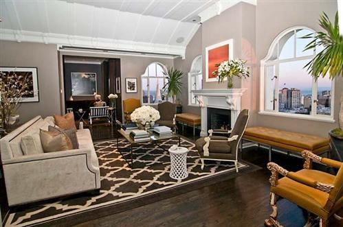 Get the Look: Gavin Newsom's San Francisco Penthouse