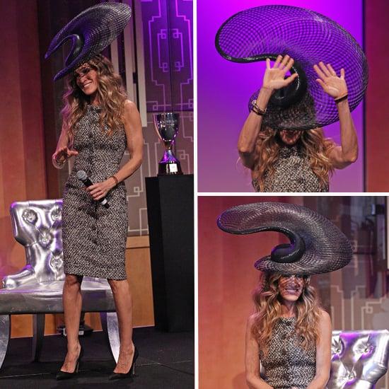 Sarah Jessica Parker Wears Philip Treacy Hat