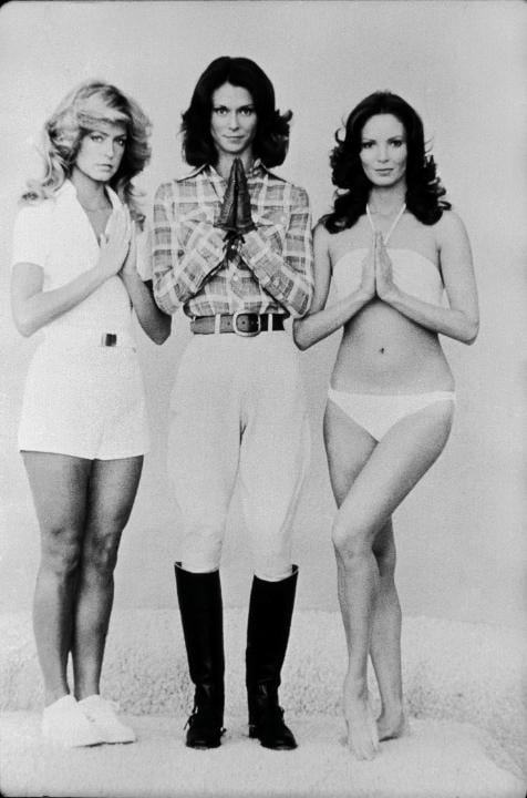 Farrah Fawcett, Kate Jackson, and Jaclyn Smith