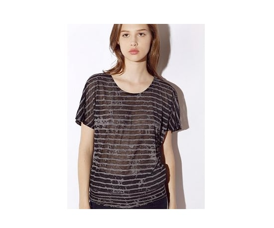 Urban Outfitters Sparkle & Fade Burnout Top