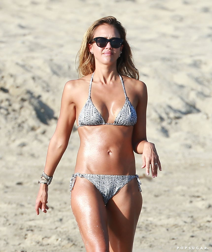 Jessica kicked off 2015 with a bikini-clad vacation in Mexico.
