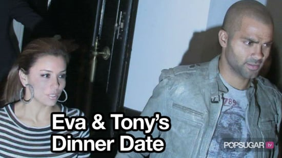 Video of Eva Longoria and Tony Parker at Beso in LA