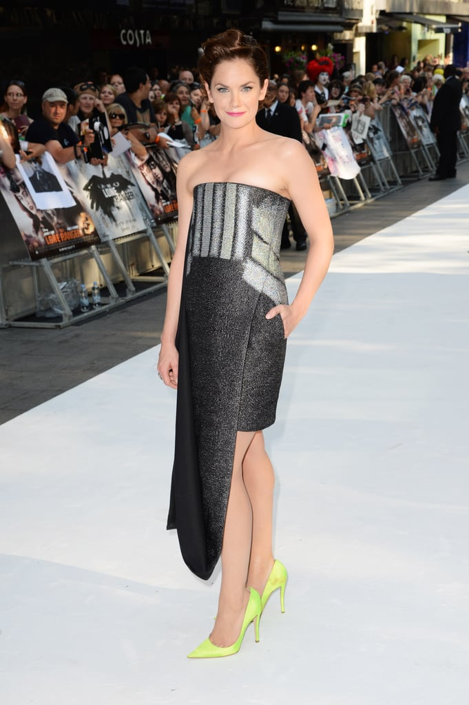 Ruth Wilson made a striking appearance at the London premiere of The Lone Ranger in Dior Haute Couture.