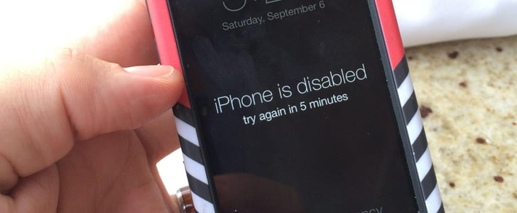 """Guess Why This Husband Got an """"iPhone Disabled"""" Message"""