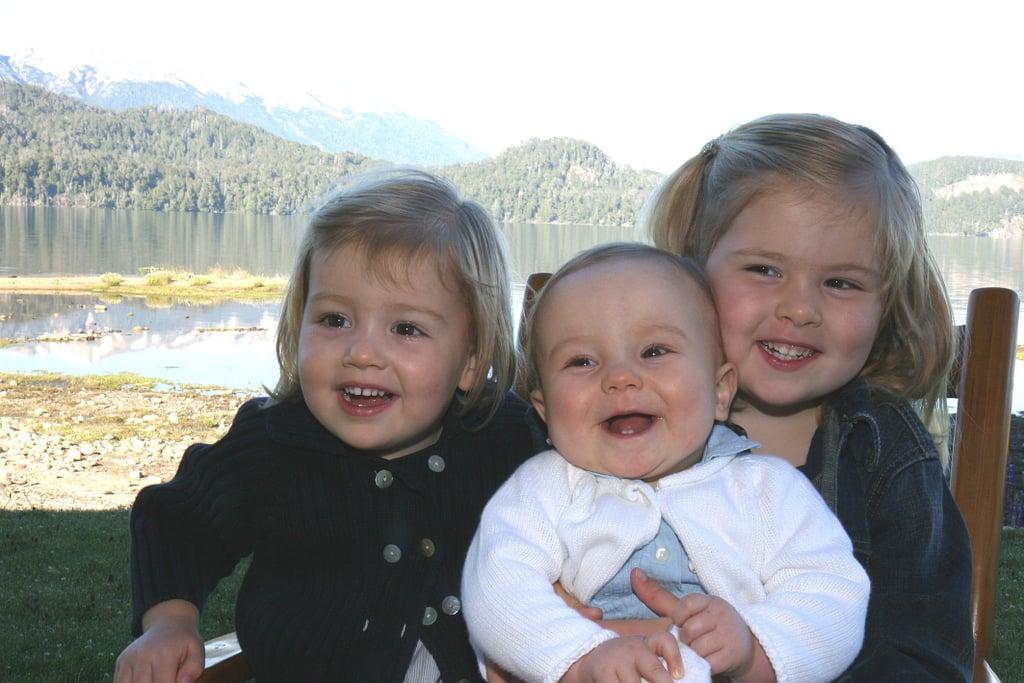 Princess Ariane, Princess Alexia, and Princess Amalia