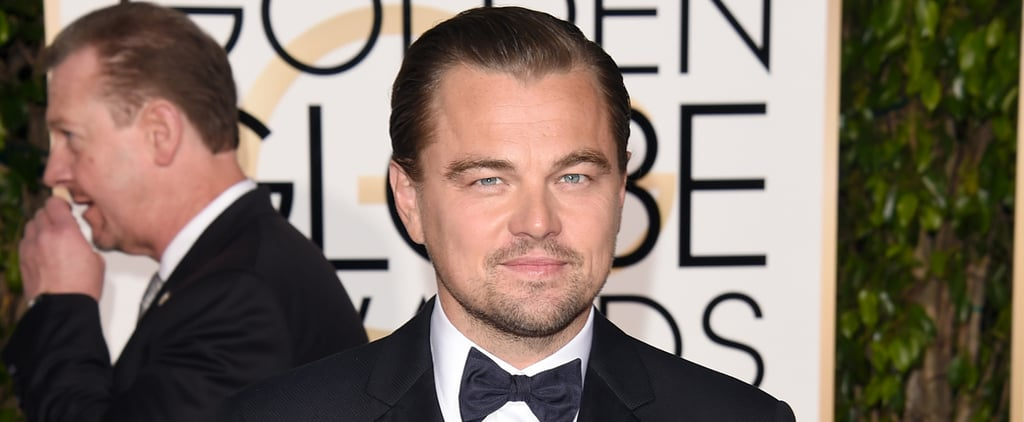 Leonardo DiCaprio Hugs Kate Winslet at the Golden Globes After His Split From Kelly Rohrbach