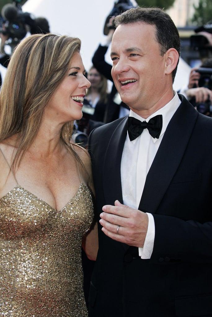 Rita Wilson and Tom Hanks in 2004