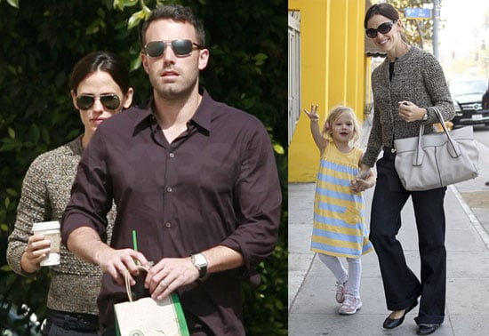 Pictures of Ben Affleck and Jennifer Garner Out in LA