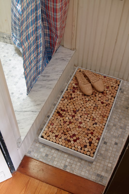Wine Cork Bath Mat