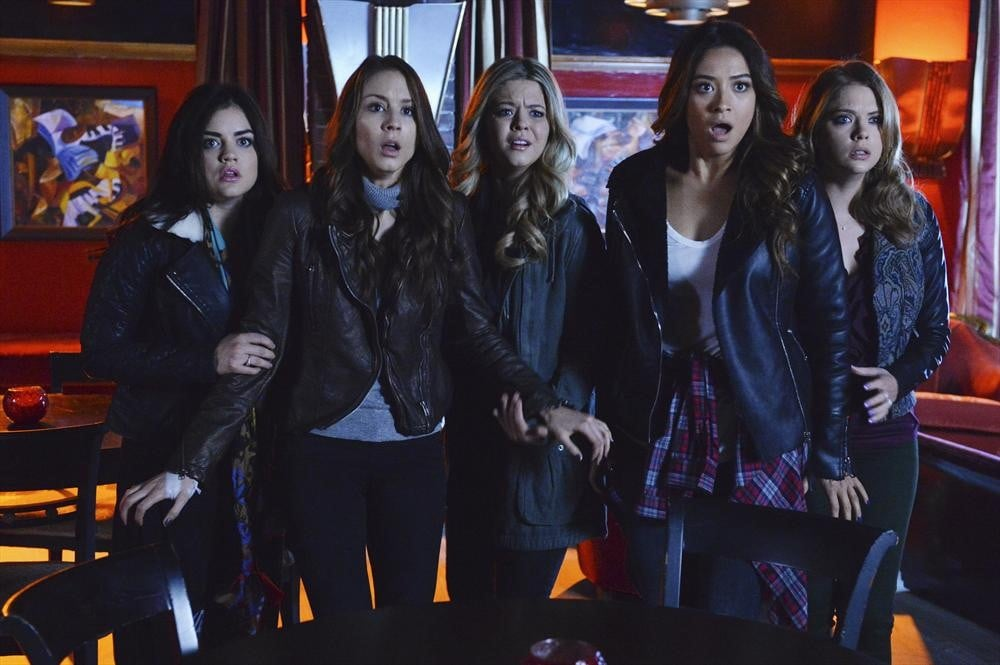 Looks like the girls are going to get into serious trouble. Source: ABC Family