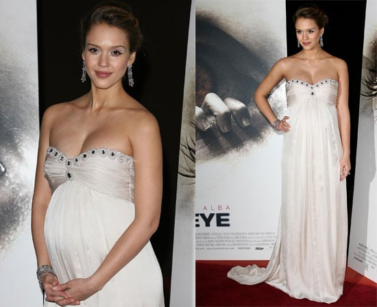 """Jessica Alba At The Premiere of """"The Eye"""" In Paris"""