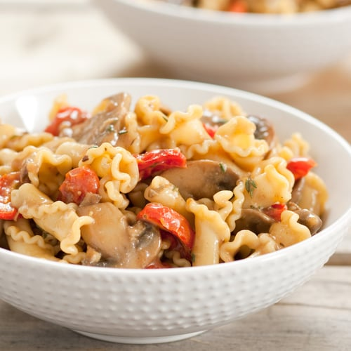 Pasta With Roasted Tomatoes and Porcini Sauce | POPSUGAR Food