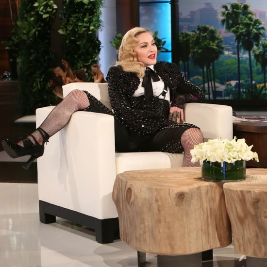 Madonna Talking to Ellen DeGeneres About Dating Younger Men