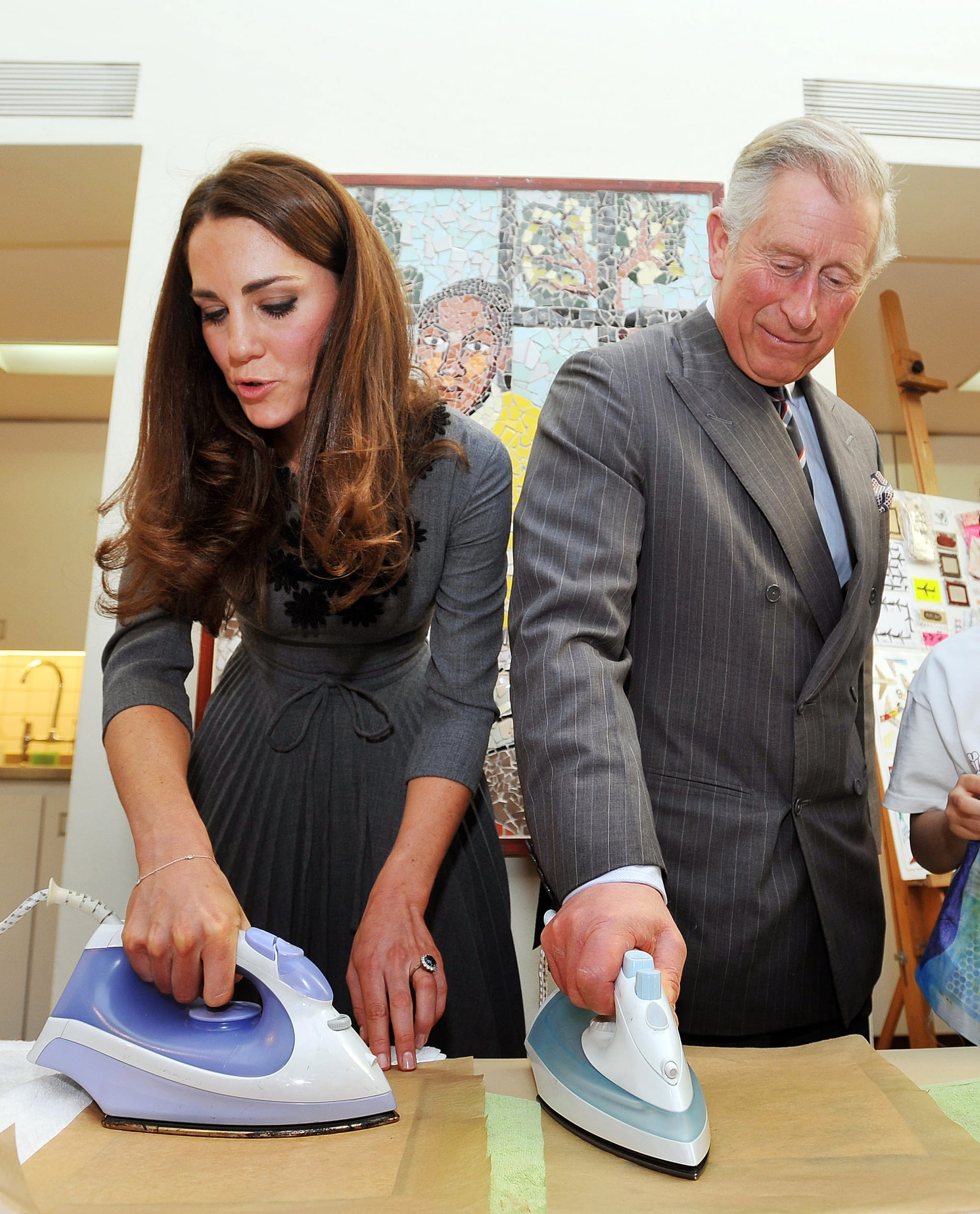 """""""Sure, I'll do an ironing contest with you, Princey Boy."""""""